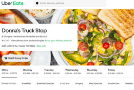 Donna's Truck Stop Offers Insight and Great Ideas on Offering Uber Eats