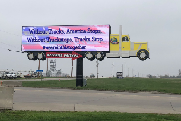 Proud of the Way the Truckstop Industry Has Stepped Up
