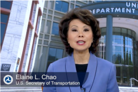 Secretary Chao Encourages Transportation Leaders to Continue Fight Against Human Trafficking