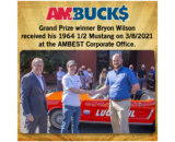 AMBEST Awards the AMBUCK$ Grand Prize Mustang to Minnesota Truck Driver