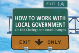 Truckstop Advice: How to Work with Local Government on Exit Closing & Road Changes