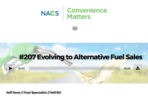 NATSO's Jeff Hove Discusses Biofuels on Convenience Matters