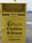 Where: Fuel King Napoleon Travel Center - Great Idea: Clothing Donation Dropoff
