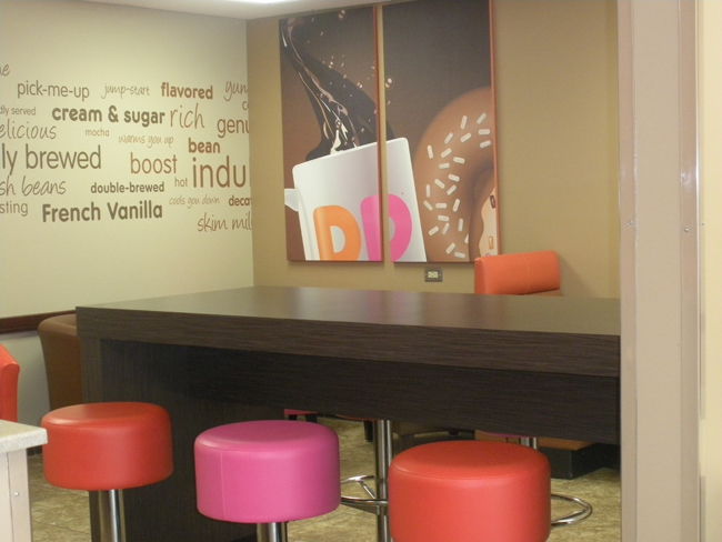 Simmons Dunkin Donuts Cafe Seating.JPG