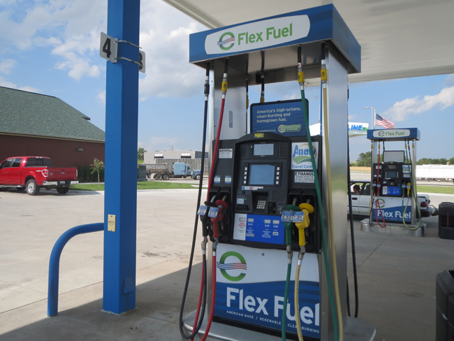 Anew Travel Center Flex Fuel Pump.JPG