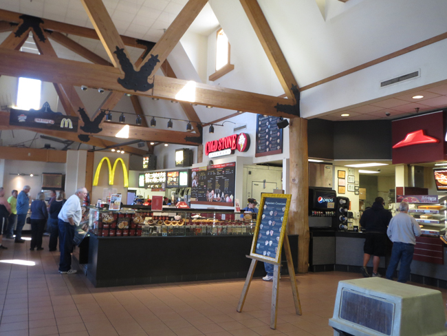 Trail's Travel Center Food Court.JPG