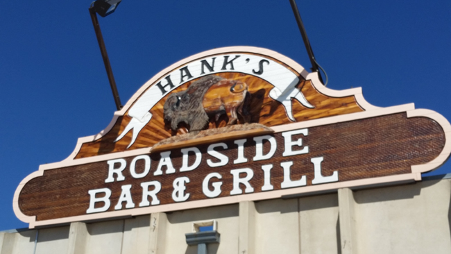 Reno Junction Travel Plaza-Hank's Bar & Grill SignJI.jpg